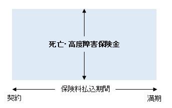定期保険イメージ図